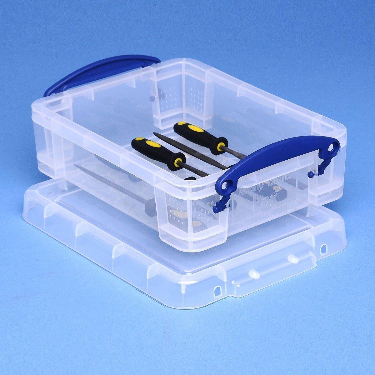 Really Useful Box 1,75 Liter, transparent | Online Shop