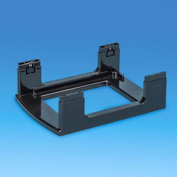 Gestell schwarz - Bauteil der Storage Towers - 7 Liter Schubladen oder 4 Liter Boxen