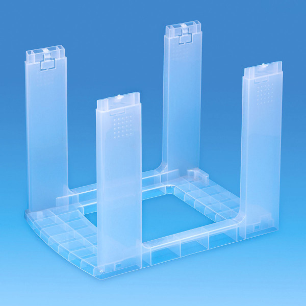 Gestell transparent - Bauteil der Storage Towers - 25 Liter Schubladen oder 19 Liter Boxen