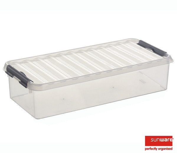 Q-line Box 6,5L, transparent/metallic, 485x190x105 mm