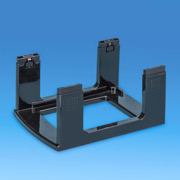 Gestell schwarz - Bauteil der Storage Towers - 12 Liter Schubladen oder 9 Liter Boxen