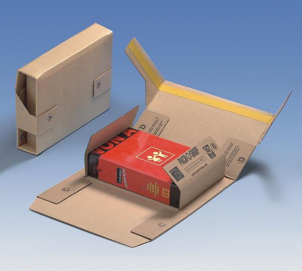 Buchverpackung 245x185x60 mm A5++, SK-Verschluss, VE20