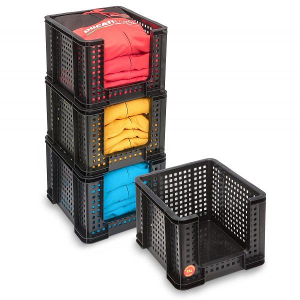 Really Useful Box 35 Liter Regalkasten schwarz