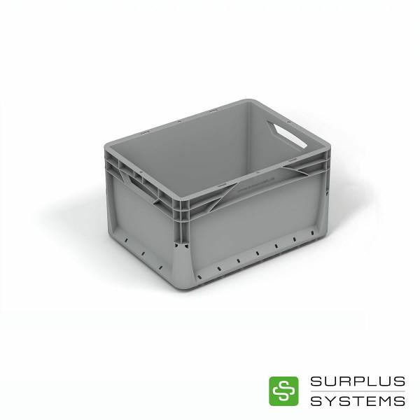 Eurobox Transportbox grau 40 x 30 cm