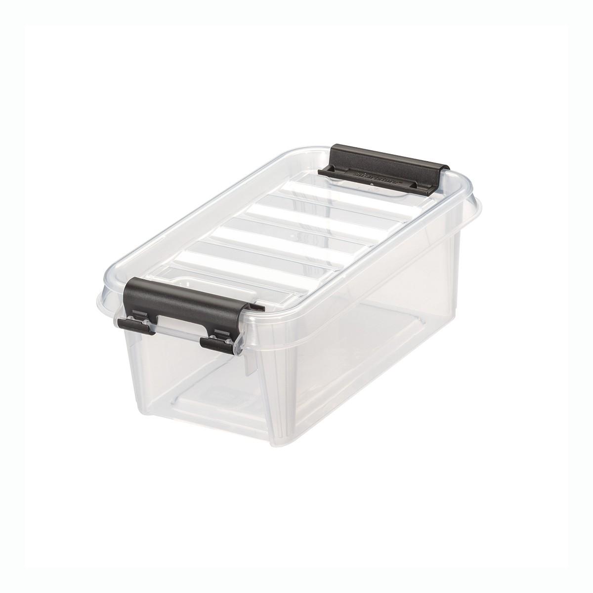 orthex smartstore transparente aufbewahrungsbox mit deckel kaufen online shop clickbox boxen. Black Bedroom Furniture Sets. Home Design Ideas