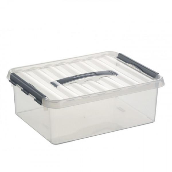 Q-line Box 12L, transp/metallf. 400x300x140 mm