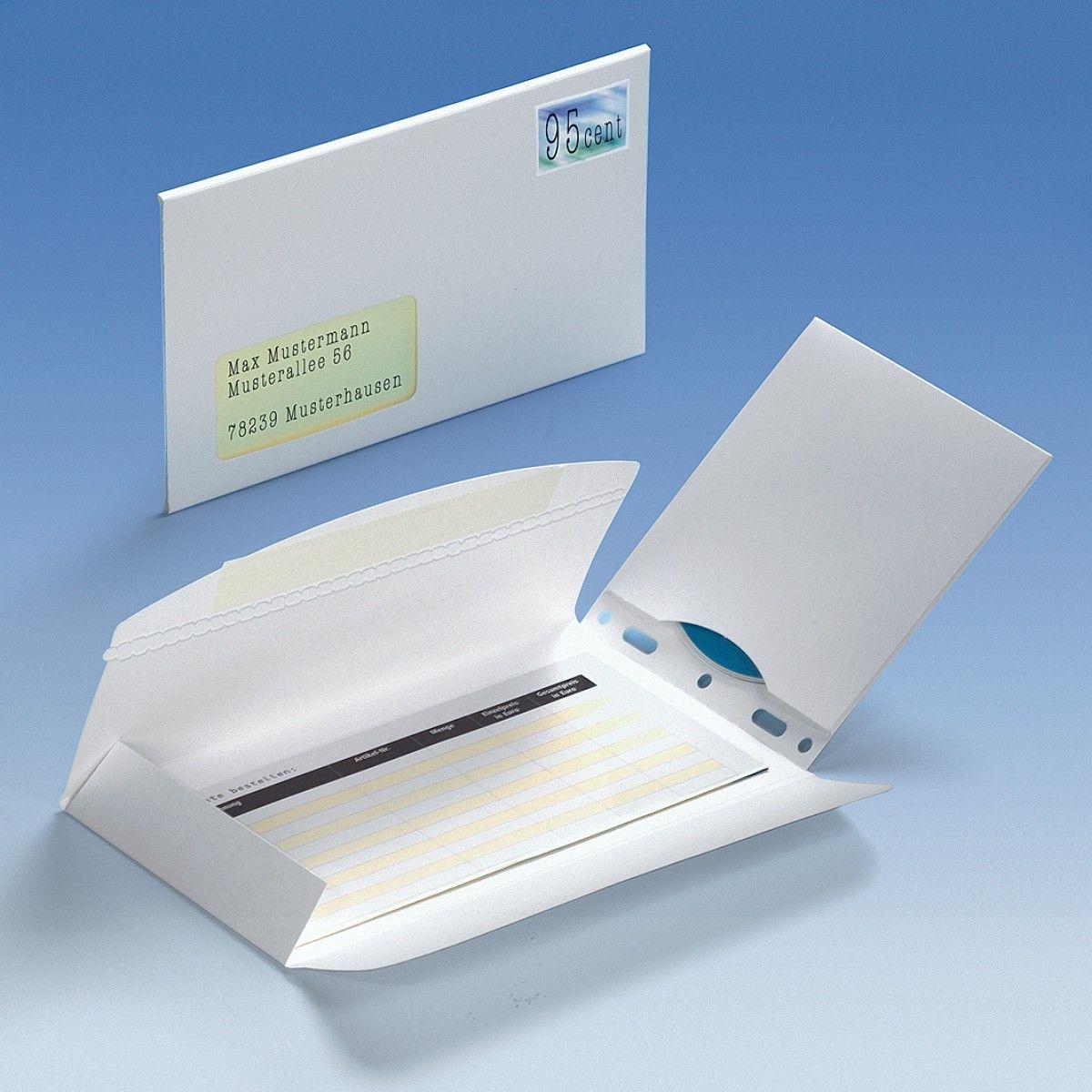 discmail cd24 cd versandtasche aus karton mit fenster clickbox world of boxes. Black Bedroom Furniture Sets. Home Design Ideas