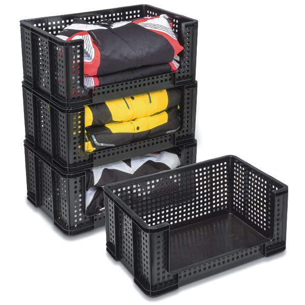 Really Useful Box 64 Liter Regalkasten schwarz