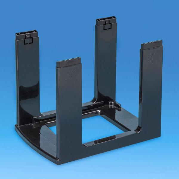 Gestell schwarz - Bauteil der Storage Towers - 25 Liter Schubladen oder 19 Liter Boxen