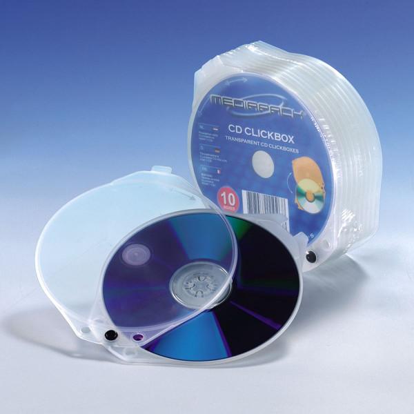 Media Pack CD Clickbox, transparent